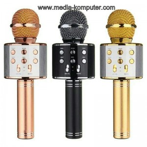 Mic MP3 karaoke wireless dan radio (tanpa kabel) ORYGINAL