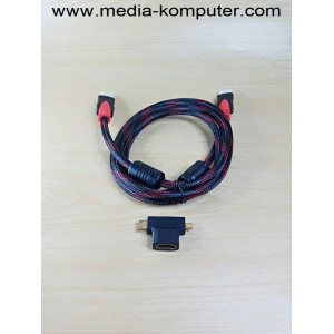 Kabel HDMI 4 in 1 Hyper speed HDMI cable