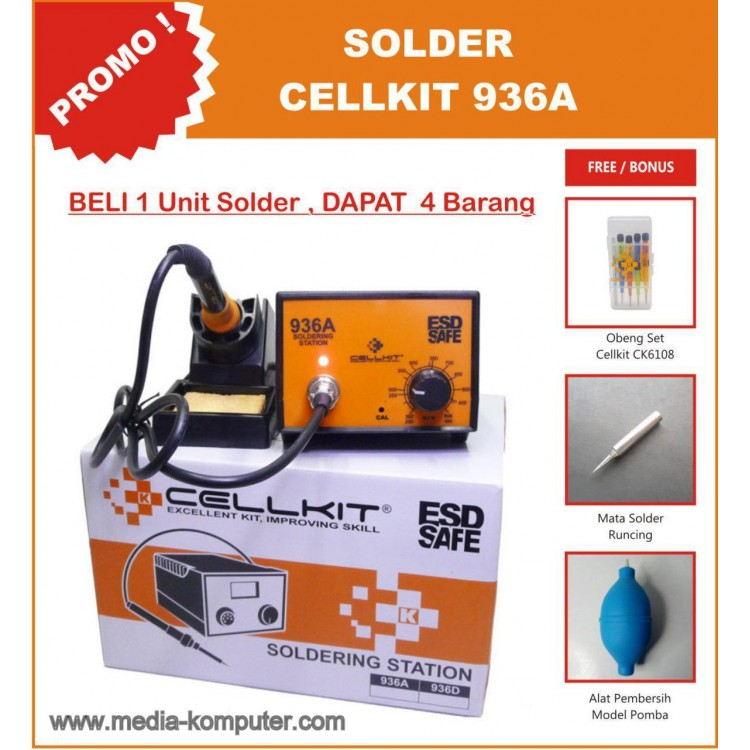 SOLDER CELLKIT 936A FREE