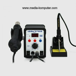 BLOWER DAN SOLDER digital YIHUA 8786d ORYGINAL LEAD FREE