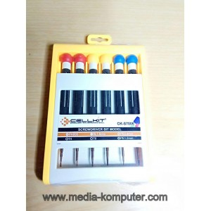 Obeng cellkit 6 set ck-s7006